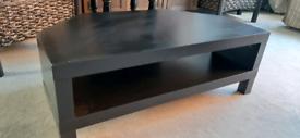 Corner TV table