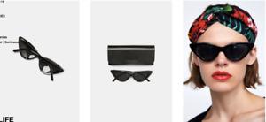 NEW with tags - Zara Cat Eye Sunglasses