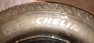 225/70R16 Michelin Snow/Winter Tires on 5 x 127 rims - made May