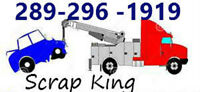 WANTED: Scrap King up to $1,000 for your Unwanted Scrap Vehicles