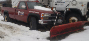 1993 Chevrolet Silverado 1500 Pickup Truck with Plow