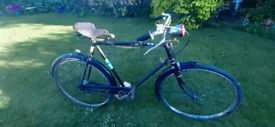 Vintage Raleigh restoration project