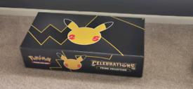 Pokémon TCG 25th Anniversary Celebrations Prime Collection Brand New