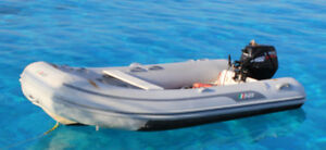 DINGHY & OUTBOARD