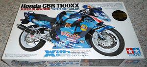 "Tamiya 1/12 Honda CBR1100XX Super Blackbird ""With Me"" Color"