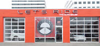 Let's Ride YYC Auto Sales looking for Lot Attendant/Detailer