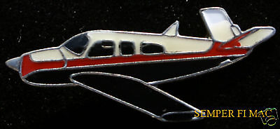 BONANZA B-35 V TAIL BEECH HAT LAPEL PIN UP BEECHCRAFT PILOT CREW SOLO GIFT WOW