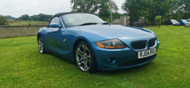 2004 BMW Z4 SE 2.2 PETROL MOTED TO MARCH 2022
