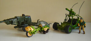 Vintage Hasbro G.I. Joe Action Vehicles
