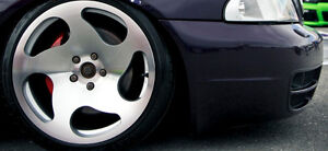 """NEW 18"""" WCI CC10 staggered reps(5x100/112) + 215/35/R18 tires"""
