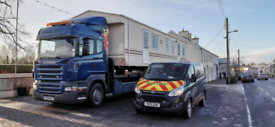 Mobile home transport and storage