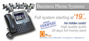 Hosted PBX Office Phone System - Provided by Orange PBX