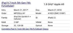 32gb cellular ipad air 2