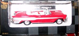 1/43 New Ray 55 & 57 Pontiac 59 Cadillac Chrome Chase Car Oakville / Halton Region Toronto (GTA) image 2