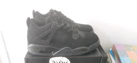 Air Jordan 4 Retro Black Cat - UK Size 10