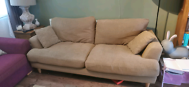 Oak furniture land 3 seater sofa