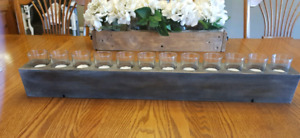Rustic Shabby chic candle holder