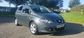 2008 SEAT ALTEA 1.9 DIESEL MOTED TO MARCH 2021 POSSIBLE PART EXCHANGE