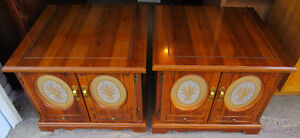 Pair of matching end tables 4 sale