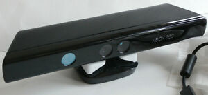 NEW XBOX 360 Microsoft Kinect Sensor Bar Only Black 1414 Wired