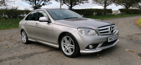 2007 MERCEDES C220 CDI SPORT AUTOMATIC MOTED TO MARCH POSSIBLE PART EX