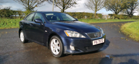 2007 LEXUS IS 220 DIESEL MOTED TO MARCH POSSIBLE PART EXCHANGE