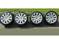 VW replica R32/R36 Omanyt speed line alloys with tires