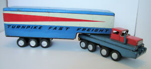 SSS International Turnpike Tractor Trailer - Mid Century Modern