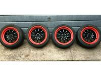 "Rota GT3 Alloys 16"" - 4 x 100 Civic eg/ek"