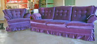 Sofa and Swivel Rocker - Excellent condition