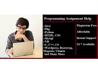 IT Assignment/Essay/Dissertation/IT/Project/UML/Programming/Mysql/PHP/C++/C#/Java/Python/MATLAB help
