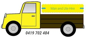 Man Ute Trailer Removalist Pickup Delivery Dump Run
