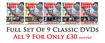 9 DVD Simply The Best Classic Racing Pigeon Set