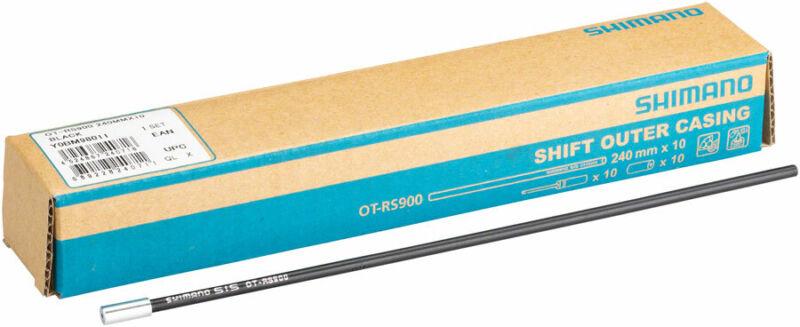 Shimano OT-RS900 Derailleur Cable Housing 10 pieces of 240mm, Black
