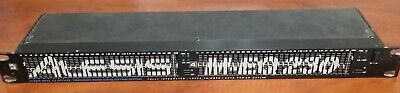 ALESIS M-EQ230 DUAL CHANNEL 1/3 OCTAVE 30 BAND STEREO GRAPHIC EQUALIZER