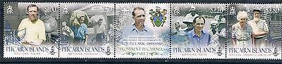 Pitcairn Is 2012 Prominent Pitcairners 4v strip MNH