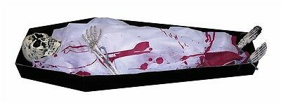 Life-Sized Coffin Skeleton Prop, Halloween, Forum Novelties
