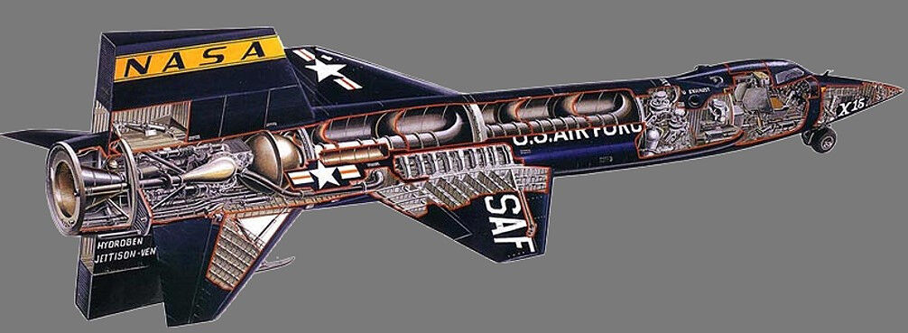 x15 the ultimate flying machine - 1006×369