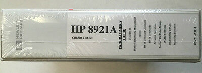 Hp 8921a Cell Site Test Set Programmers Guide Pn 08921-90031