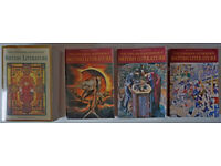 Longman Anthology of British Literature - all 4 volumes