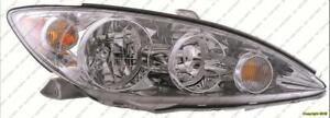 Head Light Passenger Side Le-Xle High Quality Toyota Camry 2005-2006