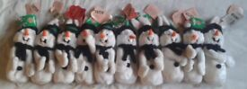 Ltd Ed. Warner Brothers Xmas, Disney, Ty Beanie Babies - inc 13 x Collectables Mag Bugs Snowman