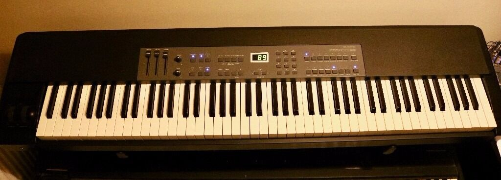 M-Audio PROKEYS 88 Stage Piano keyboard MIDI controller