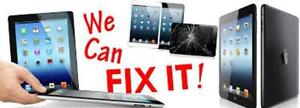 WE DO SCREEN REPLACEMENTS ON ALL IPAD 1/2/3/4, IPAD AIR, IPAD AIR2, IPAD PRO, IPAD MINI 1/2/3, IPAD MINI 4