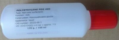 Polyethylene Glycol 400 Peg 400 - 100 Ml - 3.39 Fl. Oz.