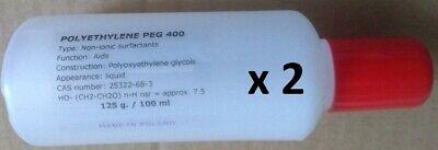 Polyethylene Glycol 400 Peg 400 - 2 X 100 Ml
