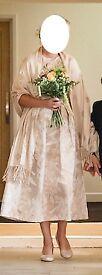 Monsoon - Diana Jacquard Dress - Size 10 and Size 12