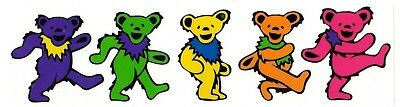 Grateful Dead Dancing Bears Sticker decal 2.25