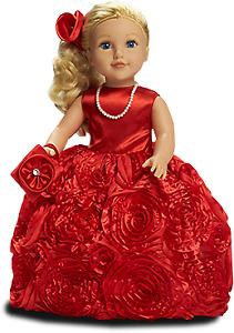 NEW: Newberry 18 inch Christmas Doll - Holly