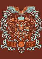 Edmonton Folk Music Festival – Aug 9 Sun Hardcopy tix 100 obo
